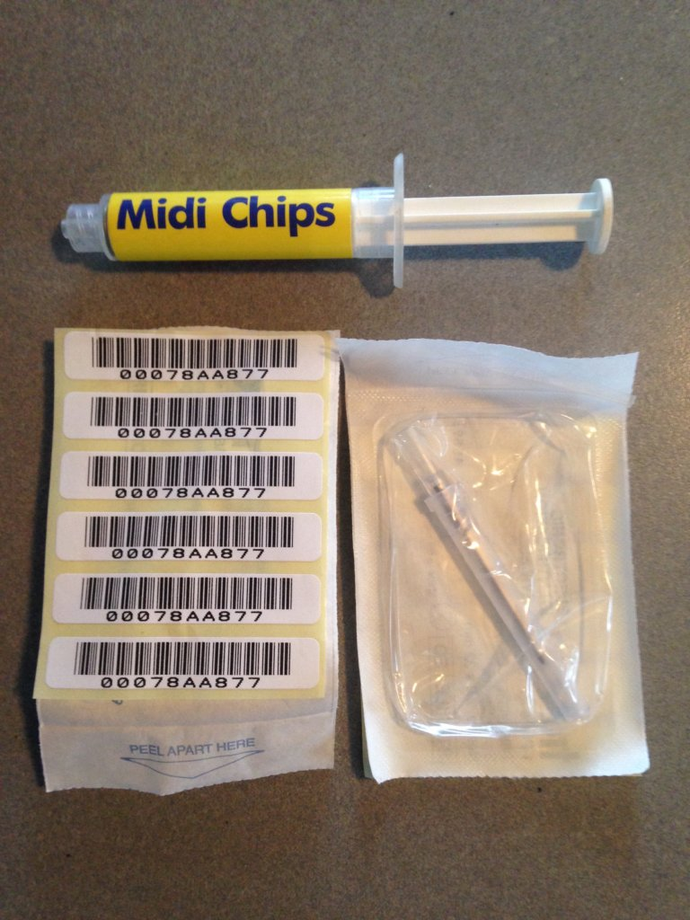 Part of our new microchip supply.  Thanks!