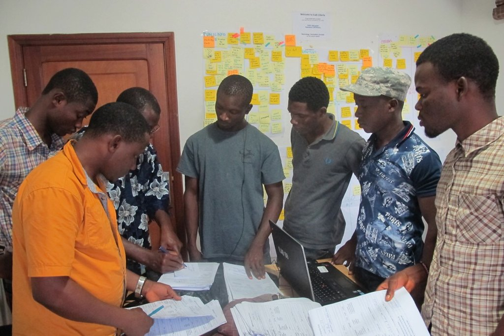 iLab team reviews cases with emergency dispatch