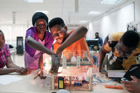 Educate Ethical and Innovative Leaders for Africa