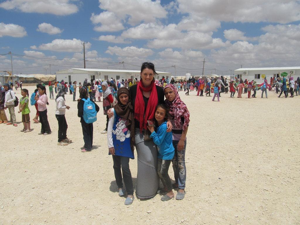 RI Emergency Response Coordinator with children