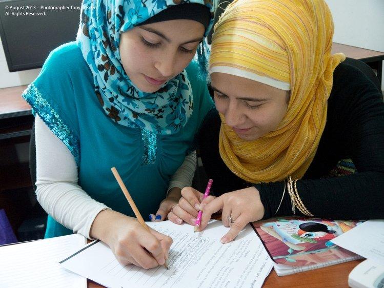 Catch-up classes in Karak, Jordan
