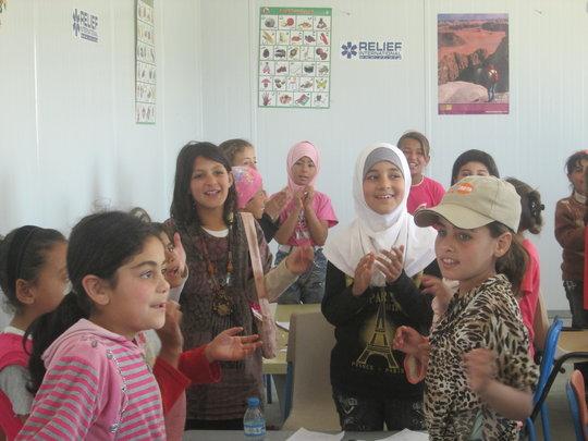 RI's Remedial Education Center, Zaatari Camp