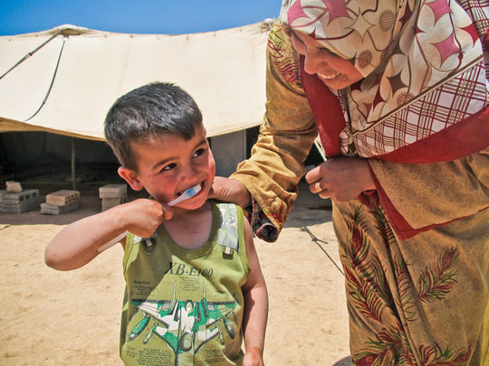 Help Syrian Refugees Receive Life-Saving Relief - Give Relief