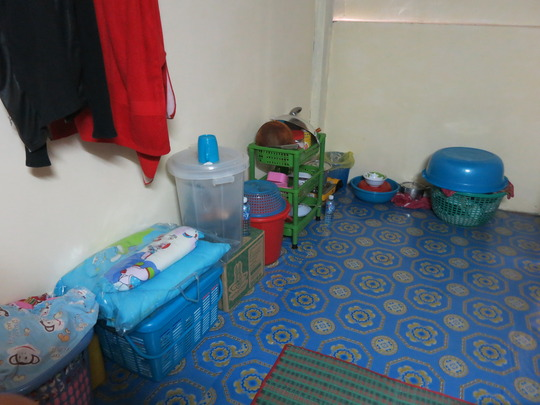 many baby & housing donations from Mother's Heart