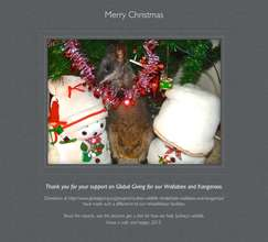 Merry Christmas and thank you to our supporters