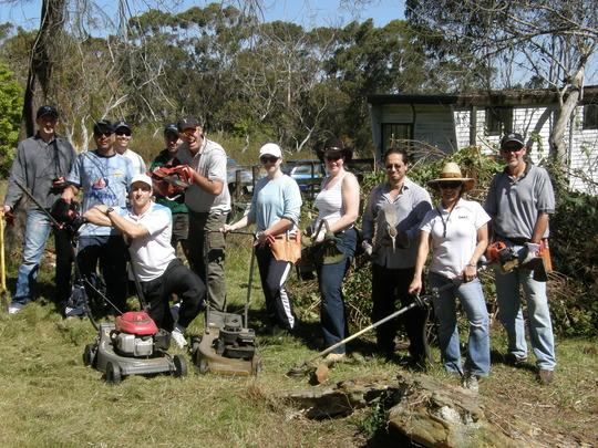 Some of our wonderful volunteer helpers