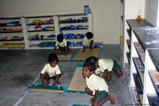 Montessori Section at sevalaya