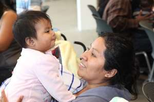 Mother and Child-Los Angeles, CA Safe Sleep Center