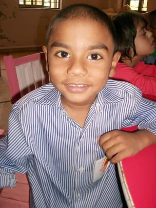 one of the 65 children who got  free services