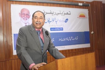Former Governor Punjab on Condolence Ref.