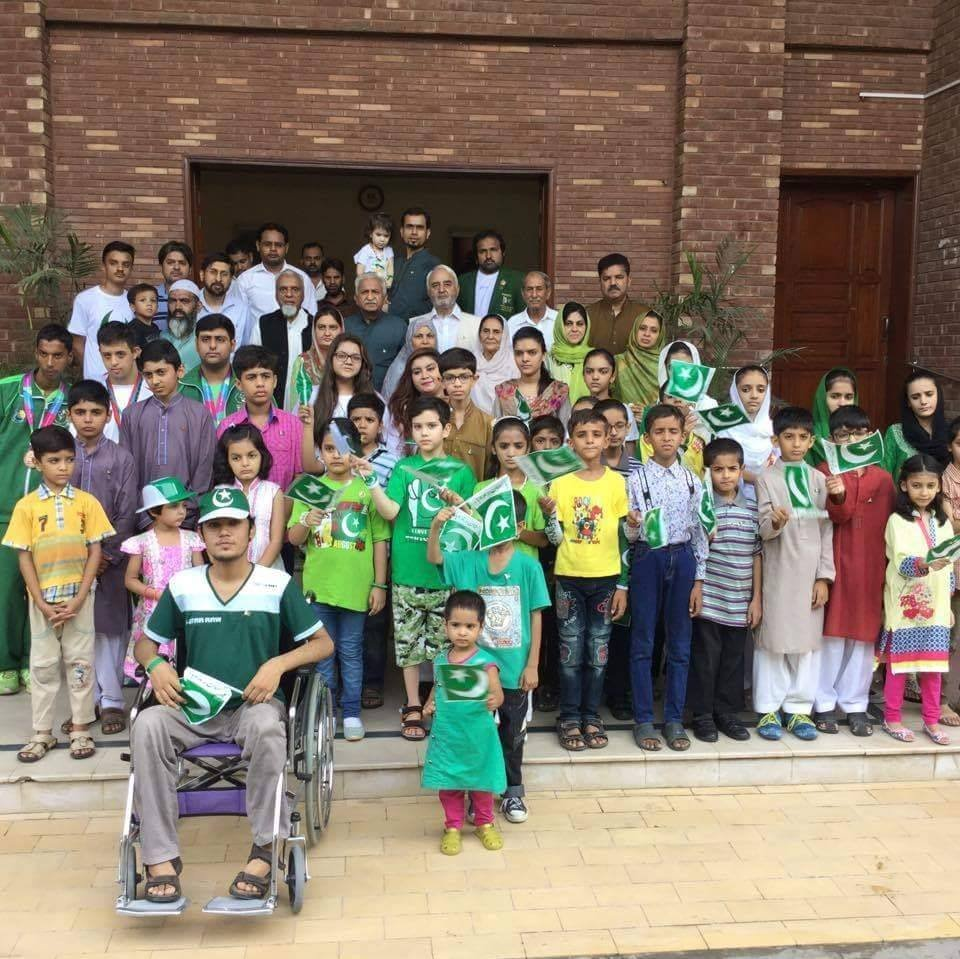 Independence Day celebrations at Rising Sun