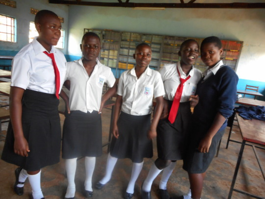 Students in Secondary School