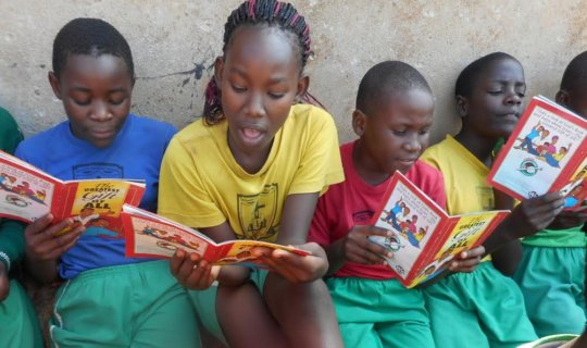 Children Reading Stories that Build Character