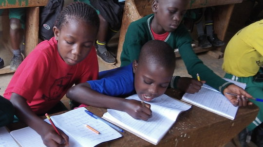 Students in Primary 3 Class