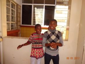 Lydia and Sarah - long-term children at the STPC