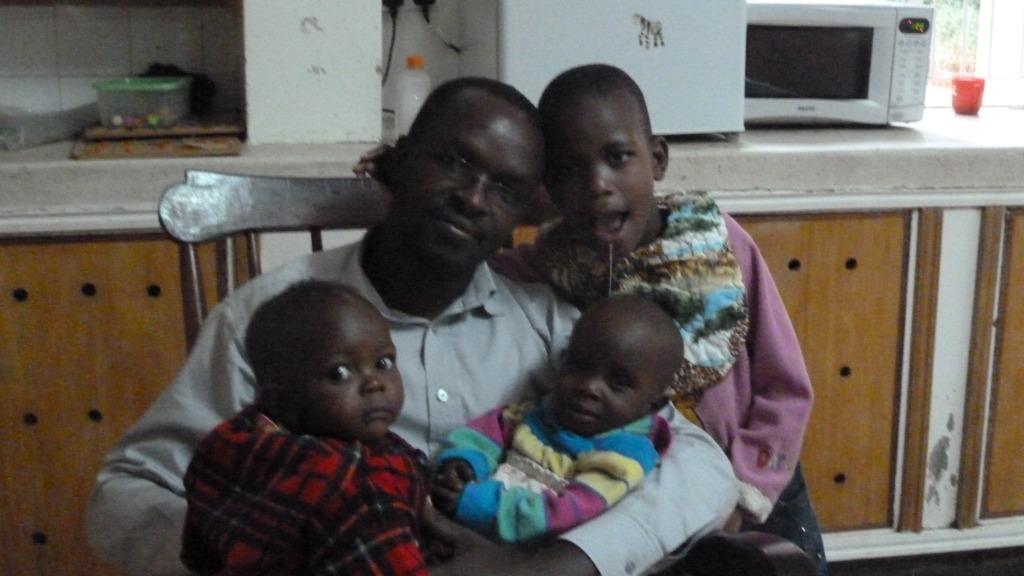 Ernest Kirui, Administrator, & some abandoned kids