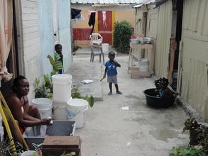 potable water needs in Domingo Maiz