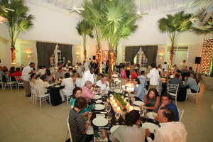 Chef Zacharian benefit dinner in Puntacana