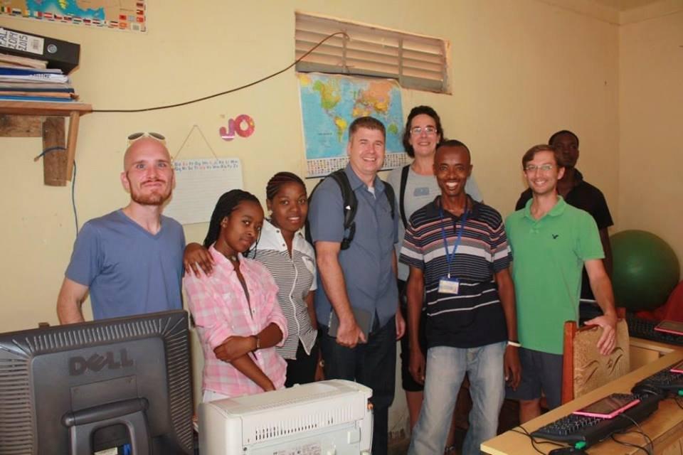 A visit from the International School Uganda