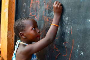 A bright future starts with chalk