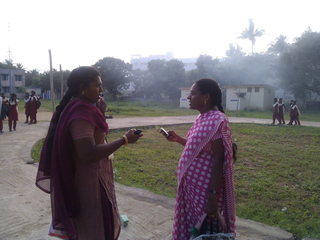 Interaction With Nursing Faculty of Project School
