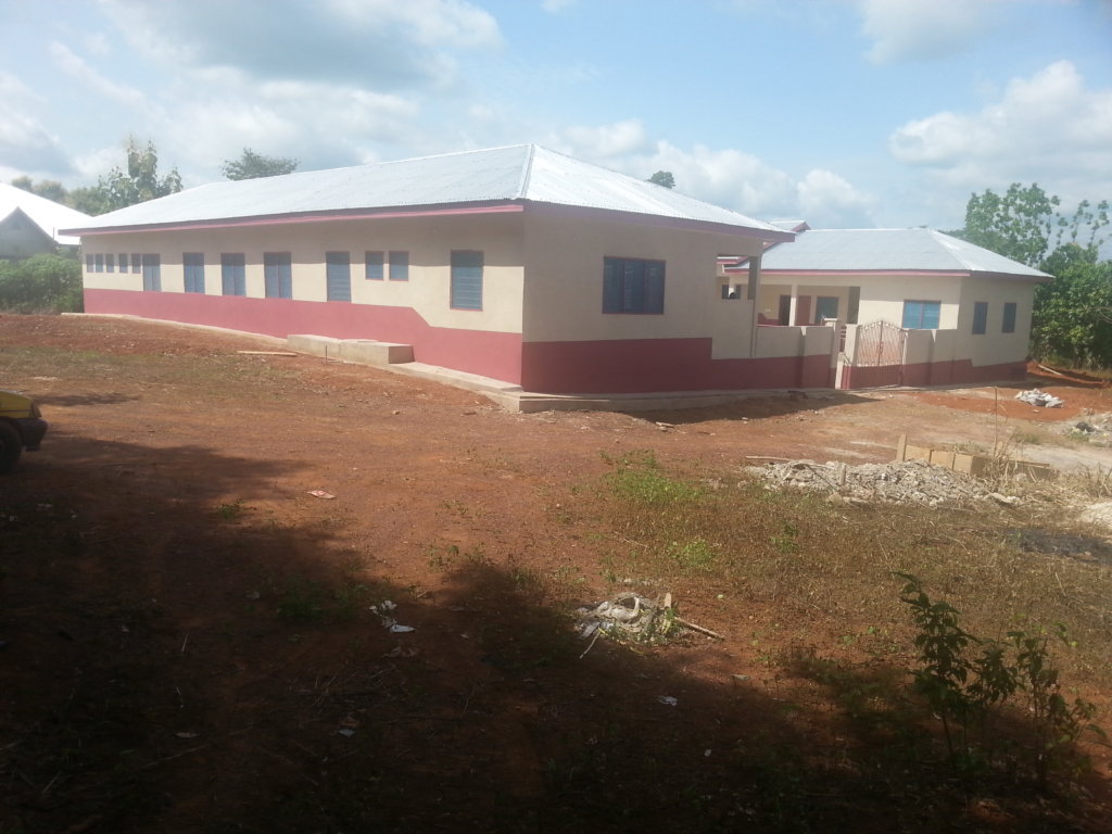 The newly built Orphanage facility