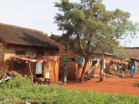 The slums in Jinja