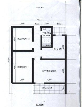 Representative home sketch