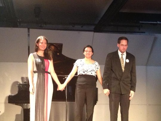 Maresch, Rosas, Davis Post-Concert Bows (Puebla)