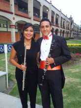 Giovanni and Katia after orchestra concert
