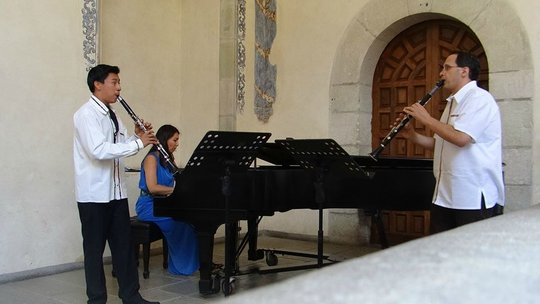 Montellano, Davis, and Maresch in Concert (Oaxaca)