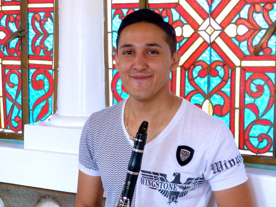 100% University Music Scholarship Winner Giovanni