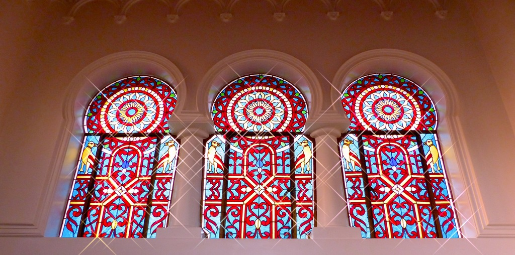 Stained glass in Arquetopia