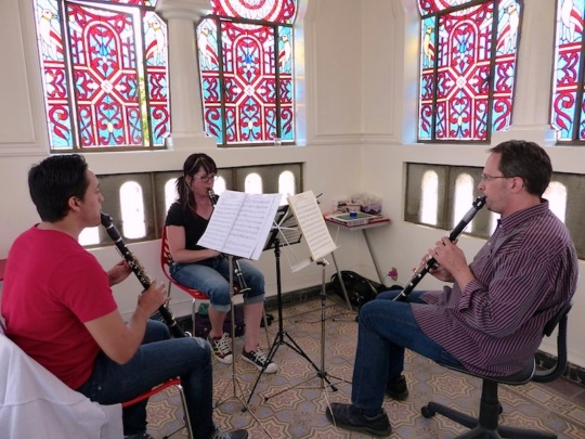 Mozart sessions w/Giovanni, Ms. Tolen, Mr. Davis