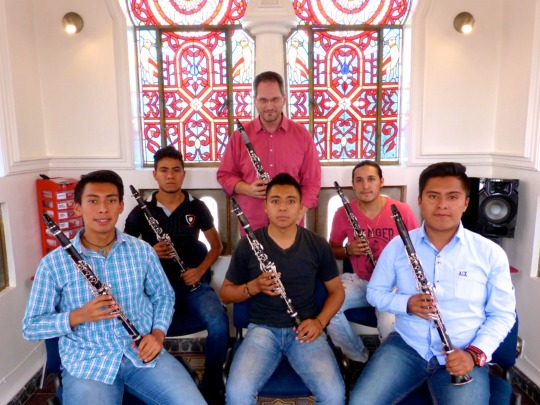 New Students in the Camerata, with Mr. Davis