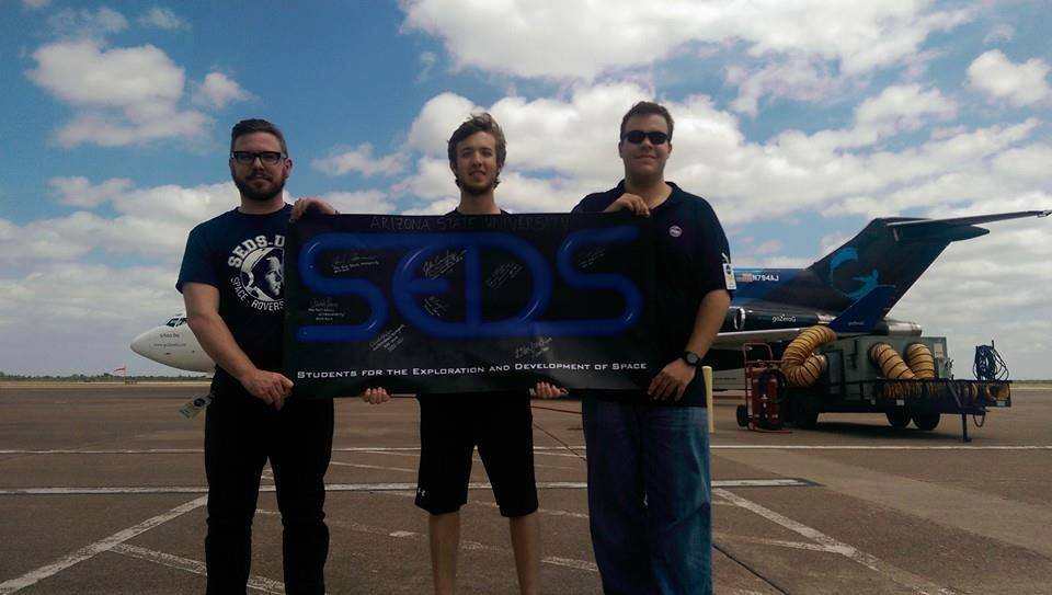 SEDS-ASU Preparing for Their Zero-G Flight