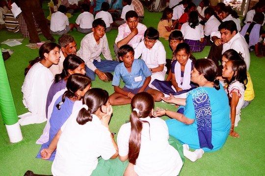 Interaction among SCHOOL to SCHOOL partners from u