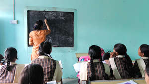 Classroom in Delhi