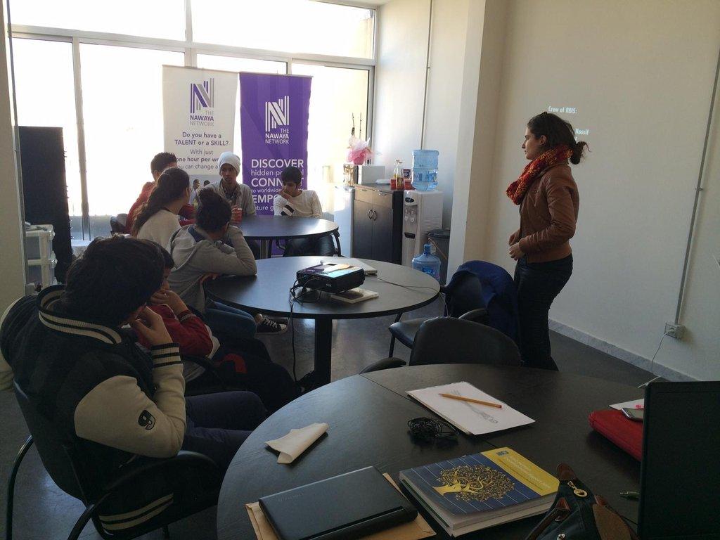 Attending a workshop on tolerance