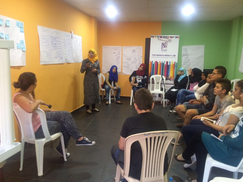 Presentations by refugee youth