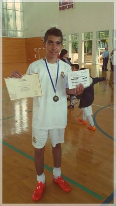 Omar's certificate from Real Madrid's coaches