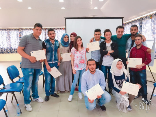 Our Youth posing with their Certificates!
