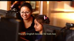 Beatriz a single Mother learning computing