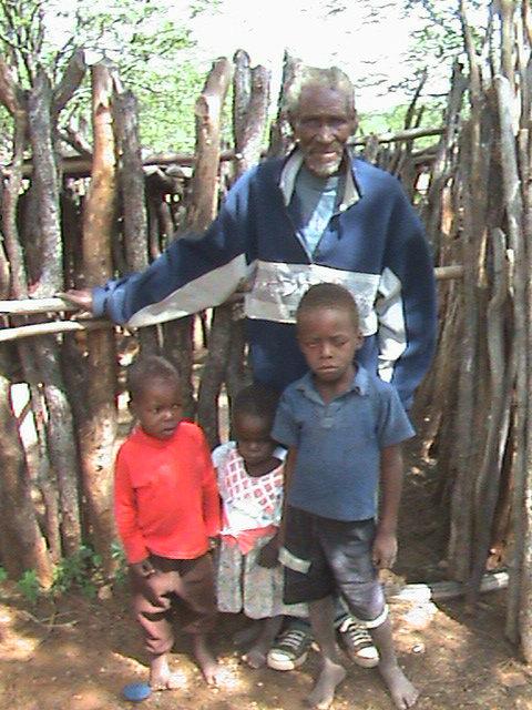 Simon and the kids