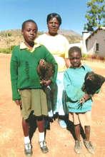 Anesu, Morelife and the Livestock Coordinator