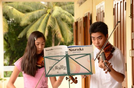 Teacher Training for Young Vietnamese Musicians