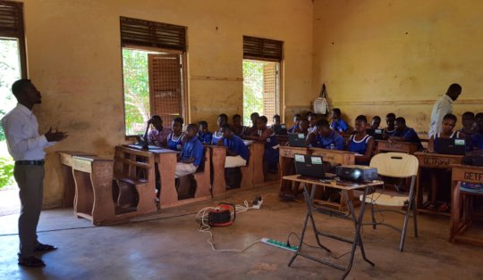 Computer class in Ashanti Region.
