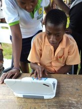 Hands-on ICT classes give children new confidence.