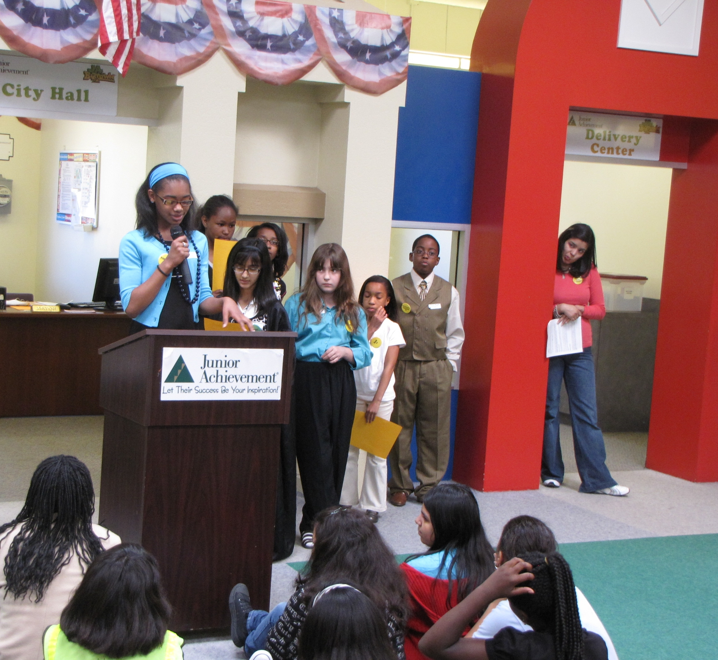 junior achievement of southeast texas - biztown