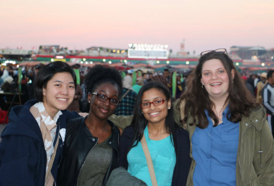 GK Students at COP22 in Marrakesh, Morocco
